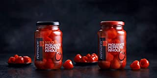 Peppadew Mild And HOT Whole Sweet Piquante Peppers Combo 14oz Each