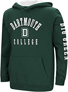 Colosseum Youth Dartmouth Big Green Pull-Over Hoodie