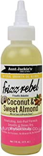 AUNT JACKIE'S NATURAL GROWTH OIL BLENDS- FRIZZ REBEL - COCONUT & SWEET ALMOND GREAT FOR