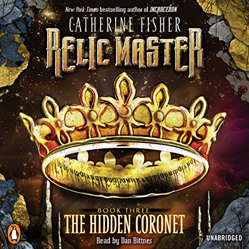 Relic Master: The Hidden Coronet, Book 3 audiobook cover art