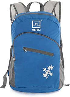 AOTU Outdoor Sports Waterproof Riding Folding Backpack Cycling Travel Backpack