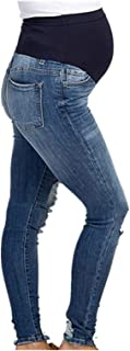 SUPERMOM Jeans OTB Acid Blue Vaqueros Premama para Mujer
