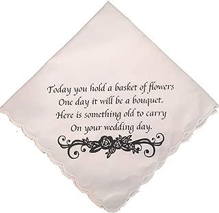 flower girl handkerchief
