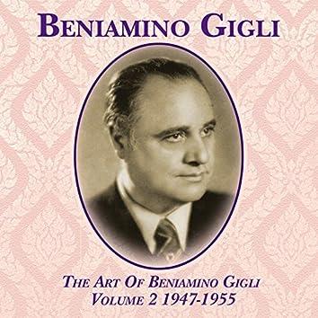 The Art Of Beniamino Gigli, Vol. 2 1947-1955