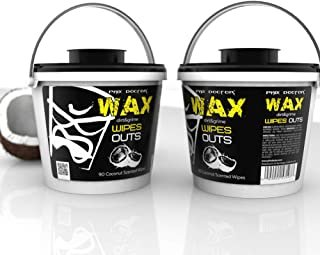 Phix Doctor Wax Wipe Outs 36 Surfboard Wipes Cleaner