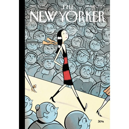 The New Yorker (March 20, 2006) audiobook cover art