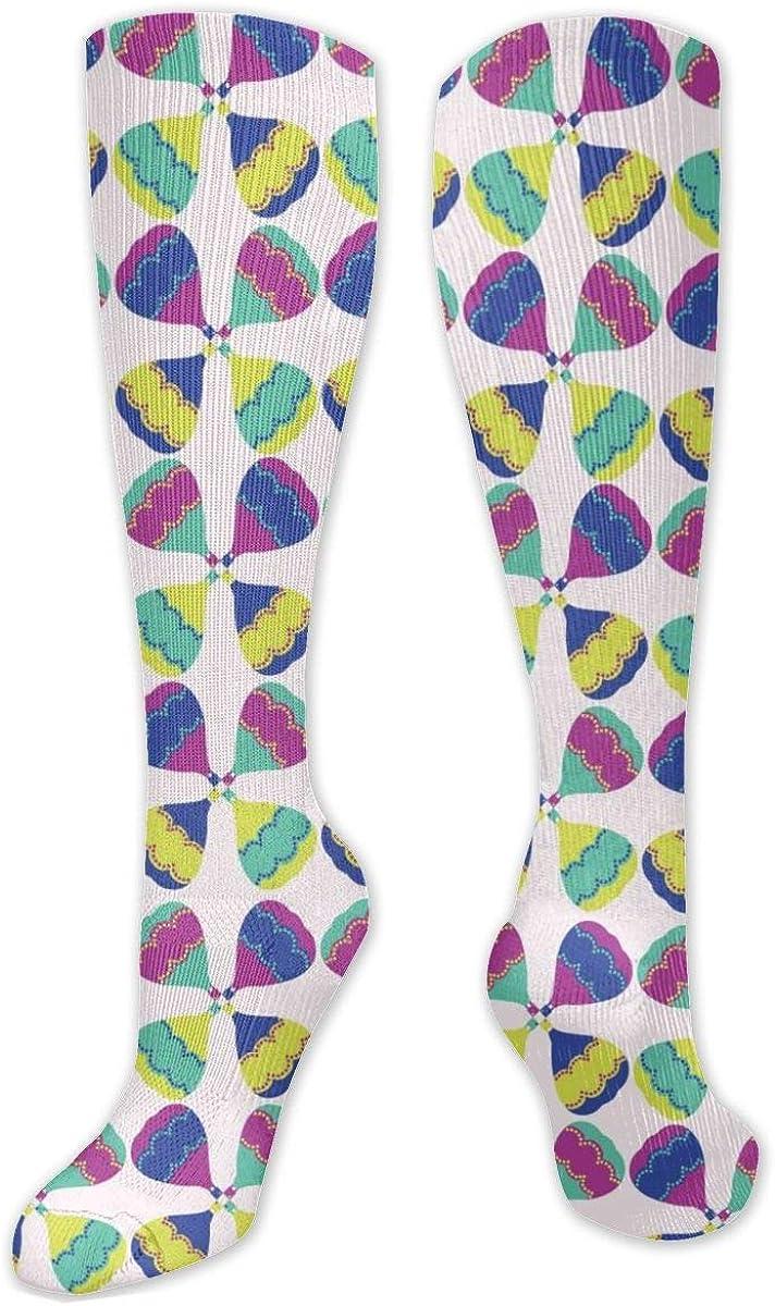 Hot Air Balloon Knee High Socks Leg Warmer Dresses Long Boot Stockings For Womens Cosplay Daily Wear