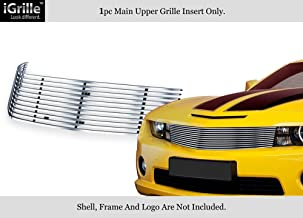 APS Compatible with 2010-2013 Chevy Camaro LT LS RS SS Short Style Stainless Billet Grille C66721C