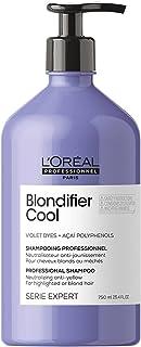 L'Oréal Professionnel Paris Shampoo professionale per capelli biondi freddi Blondifier Cool Serie Expert, Formula neutrali...