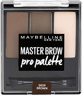 Maybelline Master Brow Pro Palette Kit Deep Brown 3.4g