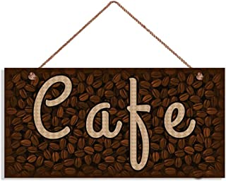 MAIYUAN Cafe Sign, Coffee Bean Background, 5
