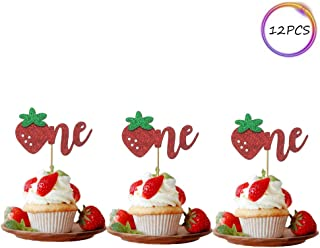 strawberry shortcake edible cupcake toppers