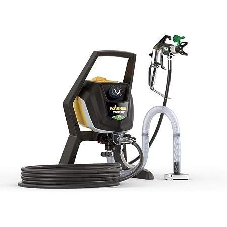 WAGNER Airless Pistolet peinture Control Pro 350 R pour peintures murales, laques et lasures, et vernis d'intérieur, 15 m² en 2 min, réglage de pression, 110 bar, tuyau 15m