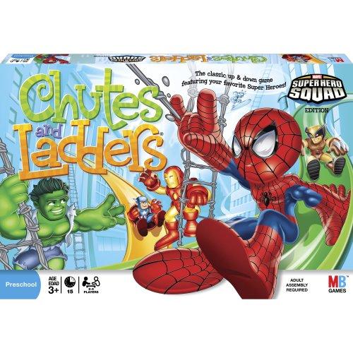 Chutes and Ladders - Super Hero Squad