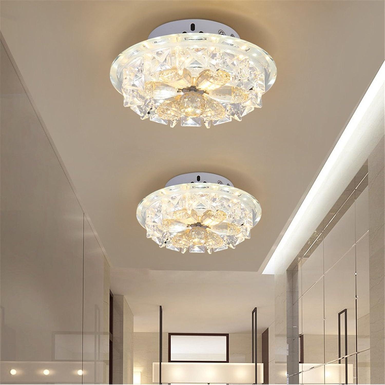 BRIGHTLLT Arcade Lampe LED Deckenleuchte Kristall Gang Korridor europischen kreativen Balkon, 260mm