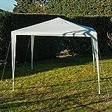 WERKA PRO - 8909 - Tente de Reception - 3 m x 3 m - Tonnelle Barnum - Blanche
