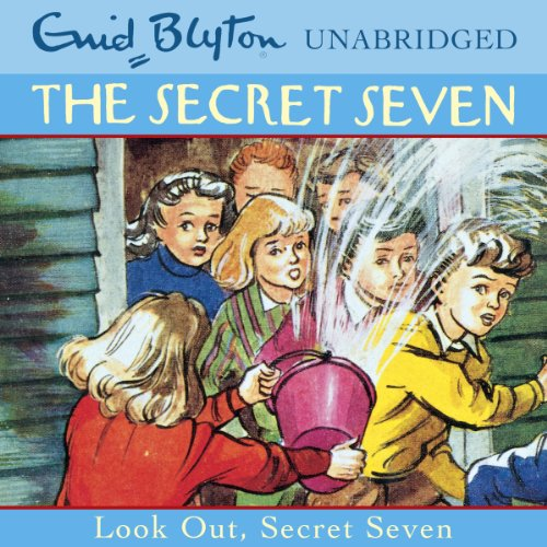 Look Out, Secret Seven audiobook cover art
