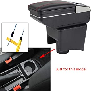 FSXTLLL Car Styling Car Door bracciolo Maniglia Decorativo Trim Cover Sticker Accessori Auto Interni per VW per Volkswagen Polo 2011 2017