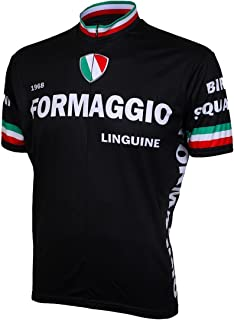 Formaggio 1968 Retro Mens Cycling Jersey Bike Bicycle