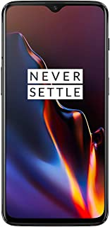 OnePlus 6T A6013 Dual Sim 128GB/8GB (Mirror Black) - Factory Unlocked - GSM ONLY, NO CDMA (Renewed)