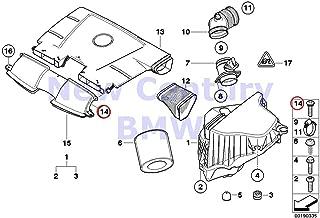 4 X BMW Genuine Torx-Bolt For Plastic Material Isa L=25MM 128i 135i M Coupé X1 28i X1 28iX X1 35iX 128i 135i 323i 325i 325xi 328i 328xi 330i 330xi 335i 335xi M3 323i 328i 328xi 335d 335i 335xi M3 325x
