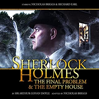 Sherlock Holmes - The Final Problem and The Empty House audiobook cover art