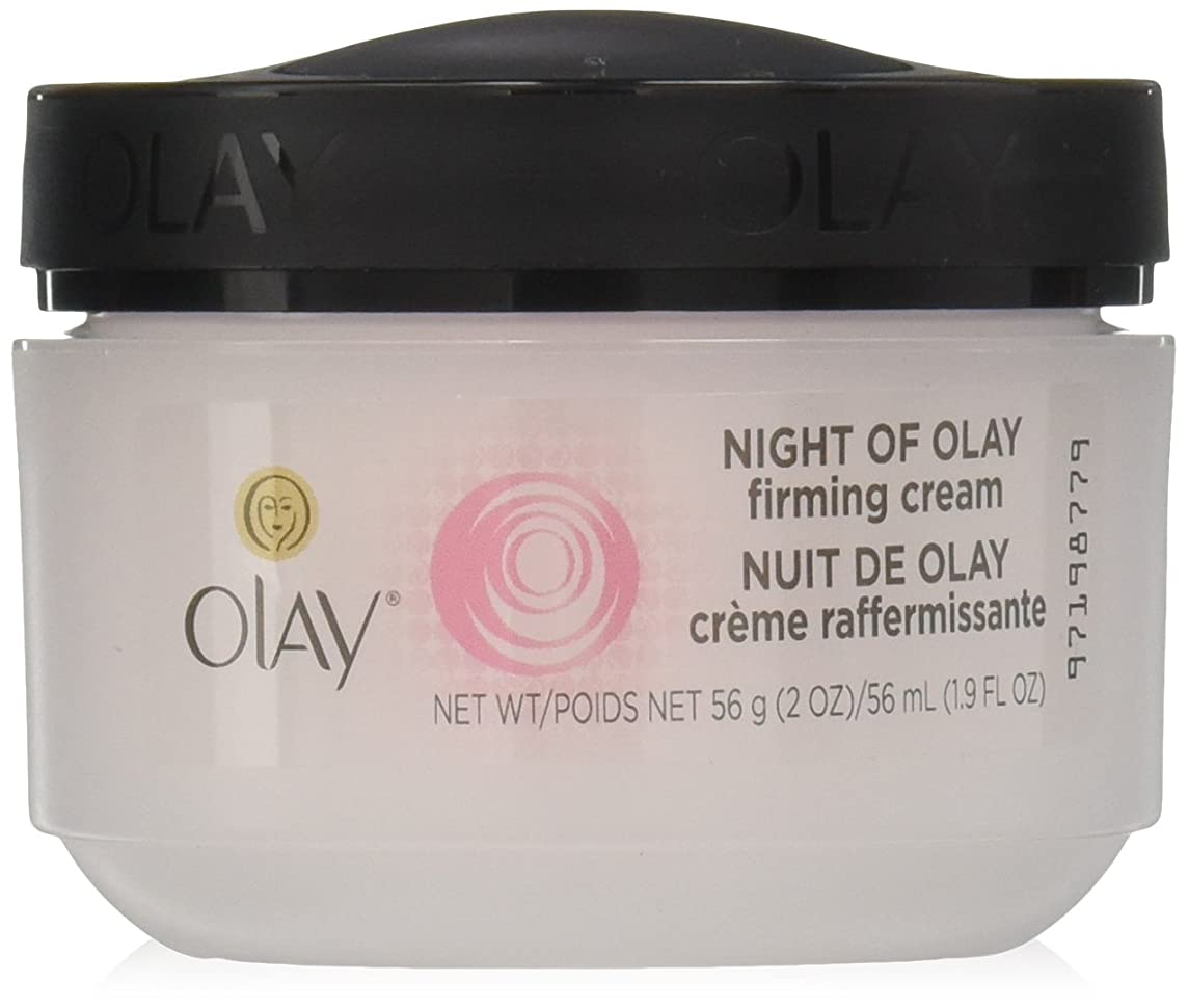 凍る藤色デュアルOlay Night of Olay Firming Cream 60 ml (並行輸入品)