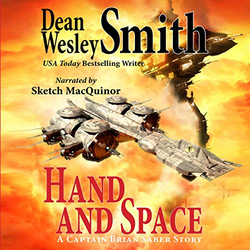Hand and Space audiobook cover art
