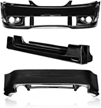 KBD Body Kits Compatible with Ford Mustang 1999-2004 Spy 2 Style 4 Piece Flexfit Polyurethane Full Body Kit. Extremely Durable, Easy Installation, Guaranteed Fitment, Made in the USA!