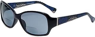 Vera Bradley Designer Bi-Focal Reading Sunglasses Willow in Canterberry Cobalt