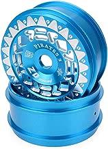 1/8 Buggy/On-road Car/Tourning Car Ruedas de aleación de aluminio para Redcat Team Losi VRX HPI Kyosho HSP Carson Hobao Trucks (Azul)