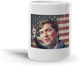 Tucker Carlson 11 Oz Coffee Mug-A3EM4GGT86V33