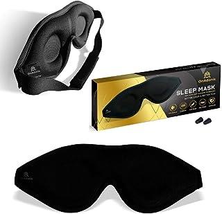 OnAdonis Sleep Mask-Blackout Eye Mask for Sleeping, Quality Comfort 3d Concave No Eyelid Pressure Eye Cover for Men Women ...