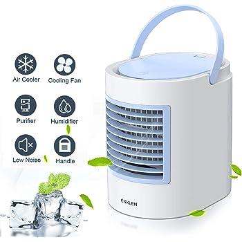 Aire Acondicionado portátil Anbber Air Cooler 4 en 1 Ventilador ...