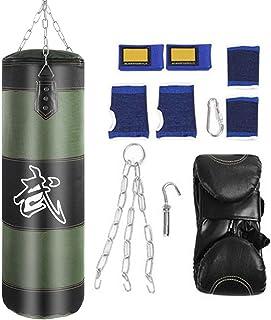 VGEBY1 Saco de Boxeo, Guantes de Boxeo MMA Muay Thai Kick