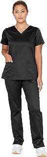 Essentials Unison Women's Scrub Set – Easy Care Top & Pants