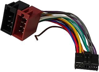 Aerzetix   ISO Konverter   Adapter   Kabel Radioadapter Radio Kabel Stecker ISO Kabel Verbindungskabel