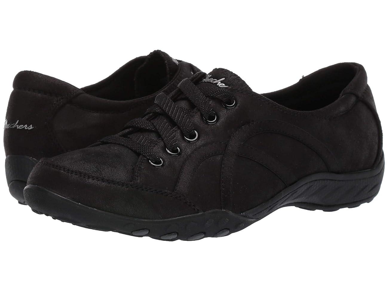 知り合いいたずら歩くレディーススニーカー?ウォーキングシューズ?靴 Breathe-Easy - Well Read Black 10 (27cm) B [並行輸入品]