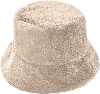 ZEFOTIM Ladies Winter Bucket Hat Cute and Warm Caps Hunting Fishing Hat