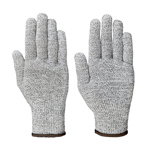 Lumaland Schnittschutzhandschuhe Arbeitshandschuhe Schutzklasse 5 verschiedene Größen L