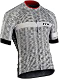 NORTHWAVE Maillot manches courtes velo homme BLADE AIR 3 blanc/noir