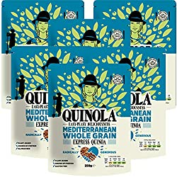 READY TO EAT - You can enjoy our delicious quinoa hot or cold. Healthy and convenient. SOURCE OF PROTEIN - Packed with protein and slow-release carbs to keep you feeling fuller for longer. SUSTAINABLE & ETHICALLY SOURCED - All our quinoa is sourced d...