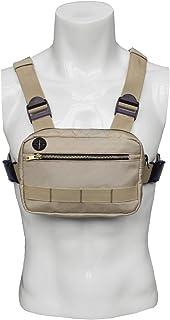 JLDUP - Bolsa de hombro para hombre y mujer, con puerto para auriculares
