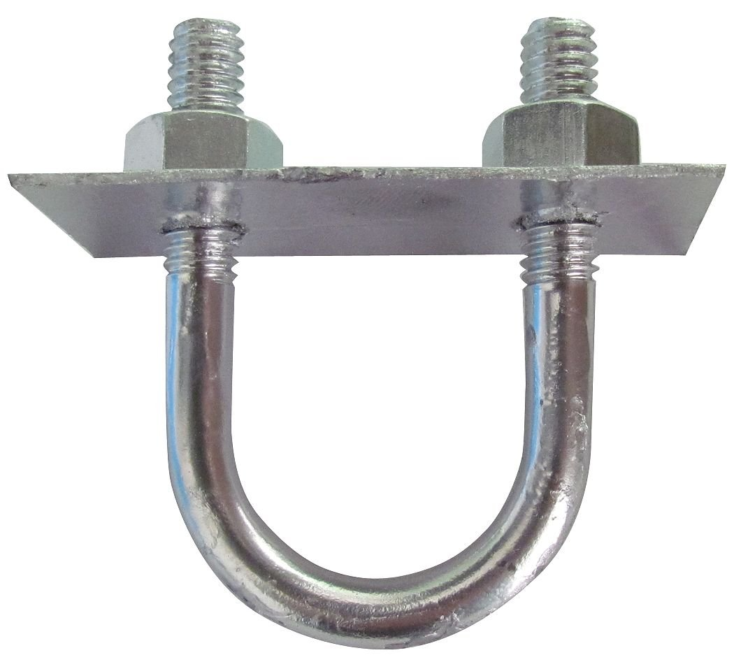 Low Carbon 2021new shipping free Steel U-Bolt with Zinc Shipping included Finish; 5YU Size Pipe For - 4