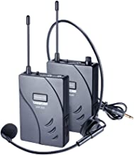 TAKSTAR Wireless Acoustic Tour Guide Transmitter Headset Microphone Audio Tour Guide System for Meeting Education Translat...