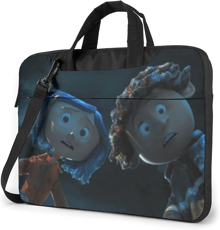 Coraline OFFicial shop Laptop Carrying Case Long Beach Mall Briefcase Handbag Lap Shoulder Bag