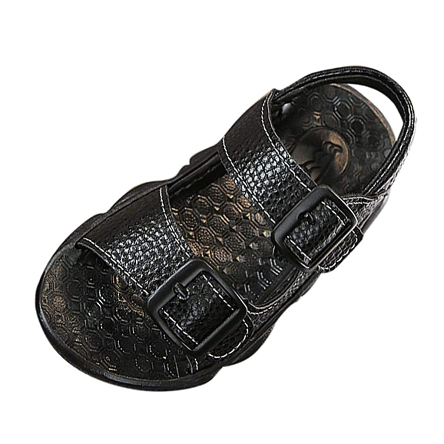 LNGRY Baby Shoes,Toddler Infant Kids Child Boys Summer Open Toe Soft Sole Anti-Slip Beach Casual Shoes Sandals