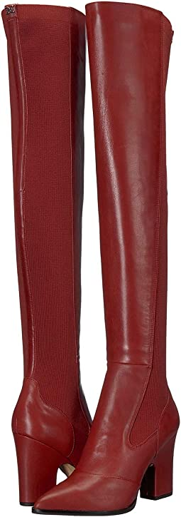Tango Red Modena Calf Leather