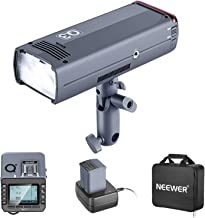 Neewer 200Ws 2.4G TTL Flash Strobe Compatible with Nikon DSLR Cameras, 1/8000 HSS Cordless Monolight with Q-N Wireless Tri...