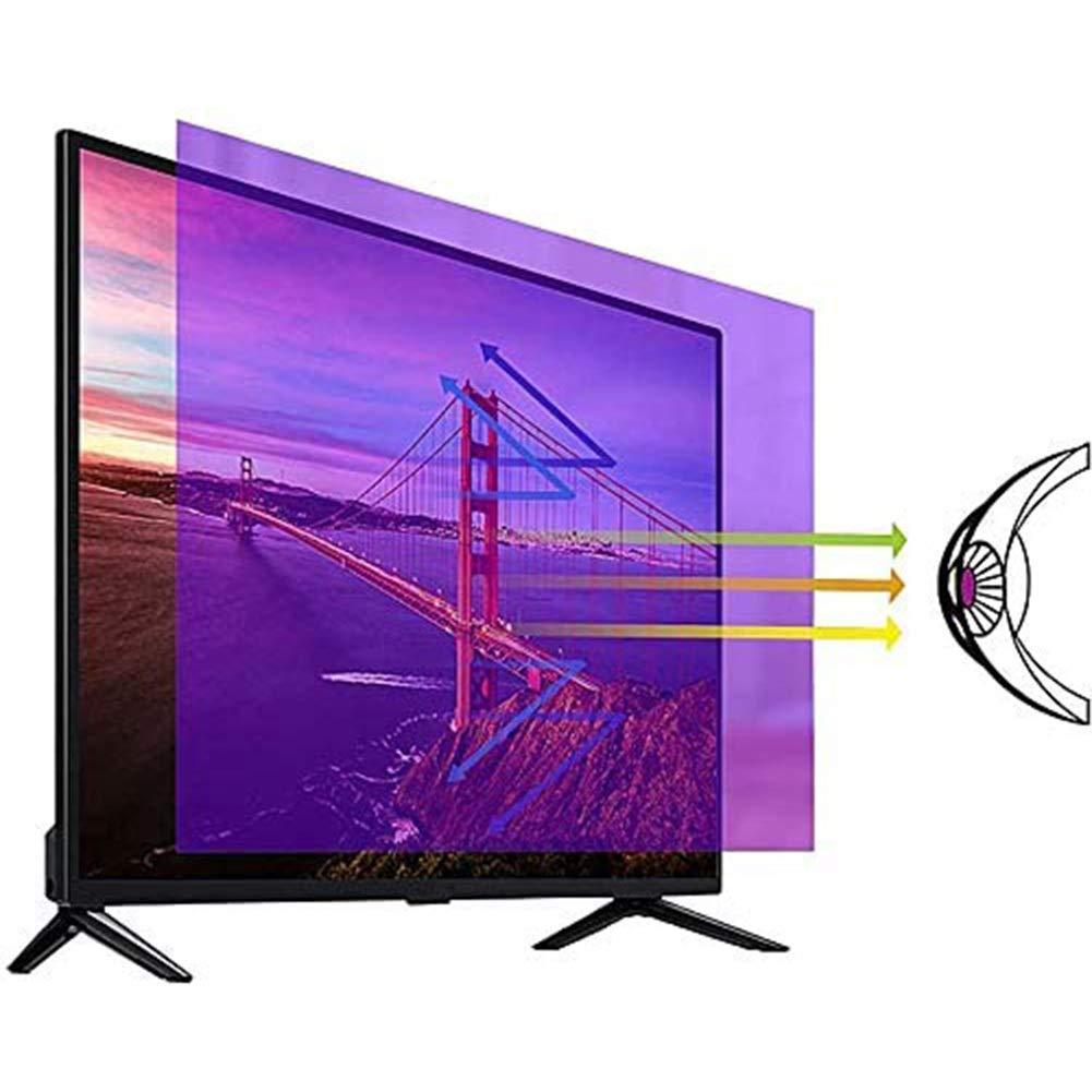YSHCA 32-37 Pulgadas Protector De Pantalla De TV, Anti Luz Azul TV Protección de Pantalla Antirreflejos Filtro De Luz Alivia La Fatiga Ocular, para HDTV LCD/LED/OLED,37Inch/ 819x460mm (1PCS): Amazon.es: Hogar